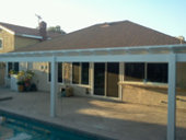 Aluminum Patio Cover, Long Beach